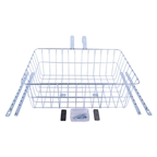 Wald 1392 Front Basket: Silver LG