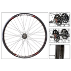 Wheel Master Wei DP18 700c 36 Hole NMSW SS-1100 Fixed Gear Black Wheel Set
