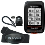 Bryton Rider 310T GPS Computer with Heart Rate & Cadence