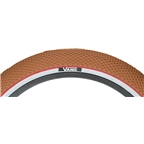 """Cult x Vans Tire 20 x 2.2"""" Classic Gum Tread White Sidewall with Red Stripe"""