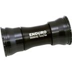 Enduro TorqTite Bottom Bracket: BB86/92, XD-15 Angular Contact Ceramic Bearing Black