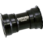 Enduro TorqTite Bottom Bracket: PF30, XD-15 Angular Contact Ceramic Bearing Black