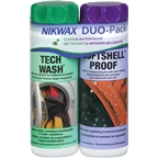 Nikwax Tech Wash/Softshell Proof DUO Pack