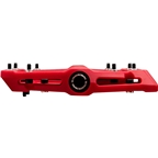 "Race Face Chester Composite Platform Pedal: 9/16"" Red"
