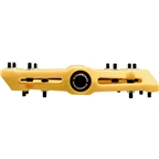"Race Face Chester Composite Platform Pedal: 9/16"" Yellow"