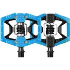 Crank Brothers Limited Edition Doubleshot Pedals: Blue/Black