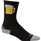 SockGuy SGX Tallboy Sock: Black