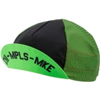 All-City Midwest Cycling Cap: One Size Black