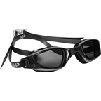 Michael Phelps Xceed Goggles: Gray/Black with Smoke Lens