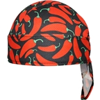 Headsweats Super Duty Shorty Headband: One Size Chili Pepper