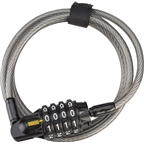 OnGuard Terrier Combo 4' x 6mm Resetteble Combo Cable Lock