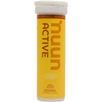 Nuun Active Hydration Tablets: Orange, Box of 8 Tubes
