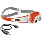 Petzl TIKKA RXP Rechargeable Headlamp: Coral