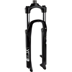 "SR Suntour XCT Suspension Fork: 26"", 1-1/8"" Threadless Steerer, 100mm Travel, Disc, Black"
