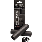 Wolf Tooth Components Fat Paw Grips, Black