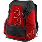 TYR Alliance 45L Backpack: Red/Black