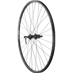 Quality Wheels Rear Wheel Value Series 700c 130mm QR 32h Shimano / Alex DC19 / DT Industry All Black