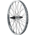 "Salt Plus Summit 20"" Rear Cassette Wheel 14mm Axle RHD 9t Driver Silver"