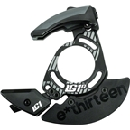 e*thirteen LG1r Carbon Chainguide 28-38t ISCG 05 with Bashguard, Black