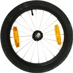 "Burley Replacemnet Wheel: 16"", For 2010 Cub Trailer"