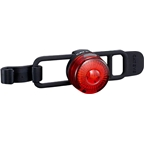 CatEye Loop 2 Rechargeable Safety Light Rear SL-LD140RC-R: Black