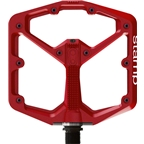 Crank Brothers  Stamp Large Pedals: Red