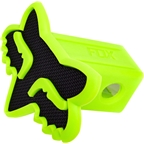 Fox Racing Trailer Hitch Cover: Black/Green One Size