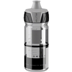 Crystal Ombra 550ml Water Bottle Clear with Gray Graphics
