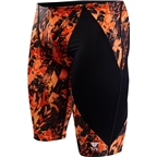 TYR Glisade Jammer Men's Swimsuit: Black/Orange