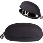 Chums Transporter Eyewear Case: Black