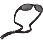 Chums Original Cotton Eyewear Retainer: Standard End Black Sold Individually