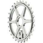 We The People Patrol Sprocket 28t High Polished 23.8mm Spindle Hole With Adaptors for 19mm and 22mm
