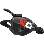 SRAM X01 Eagle 12-Speed Trigger Shifter with Discrete Clamp Black with Red