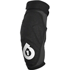 SixSixOne EVO Elbow Pad: Black/White