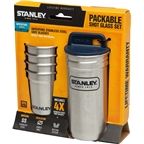 Stanley Adventure SS Shot Glass Set: Stainless Steel