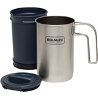 Stanley Adventure Cook plus Brew Set: Stainless Stell, 32oz