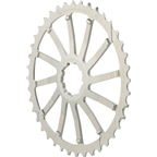 Wolf Tooth Components 40T GC cog for SRAM 11-36 10-speed Cassettes, Silver