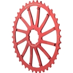 Wolf Tooth Components 40T GC cog for SRAM 11-36 10-speed Cassettes, Red