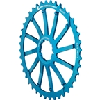 Wolf Tooth Components 40T GC cog for SRAM 11-36 10-speed Cassettes, Blue