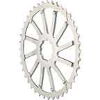 Wolf Tooth Components 40T GC cog for Shimano 11-36 10-speed Cassettes, Silver