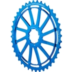 Wolf Tooth Components 40T GC cog for Shimano 11-36 10-speed Cassettes, Blue