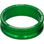 Wolf Tooth Components Headset Spacer 5 Pack, 10mm, Green