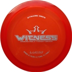 Dynamic Discs Witness Lucid Golf Disc: Fairway Driver Assorted Colors