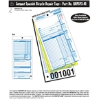 Walking Bird Spanish Unlisted Repair Form with full claim check: Pack of 250