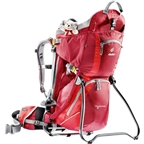 Deuter Kid Comfort II Backpack/ Child Carrier: Red