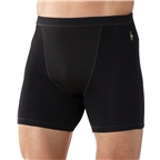 Smartwool PhD Wind Men's Boxer Brief: Black
