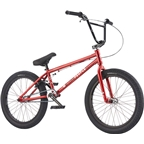 "We The People Curse 20 2017 Complete BMX Bike 20.25"" Top Tube Glossy  Metallic Red"