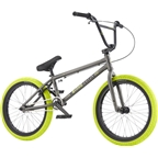 "We The People Curse 20 2017 Complete BMX Bike 20.25"" Top Tube Glossy Phosphate Raw"