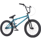 "We The People Justice 20 2017 Complete BMX Bike 20.5"" Top Tube Glossy Translucent Teal"