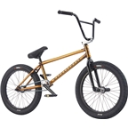 We The People Trust 20 2017 Complete BMX Bike 21 Top Tube Translucent Honey Gold
